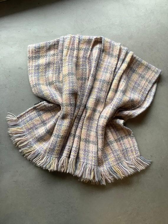 Plaid Vintage cape Irish plaid cape vintage wool … - image 2
