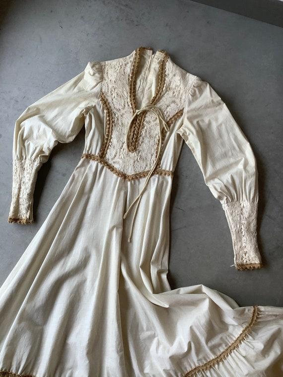 Gunne sax dress 70s Gunne Sax dress Renaissance G… - image 2