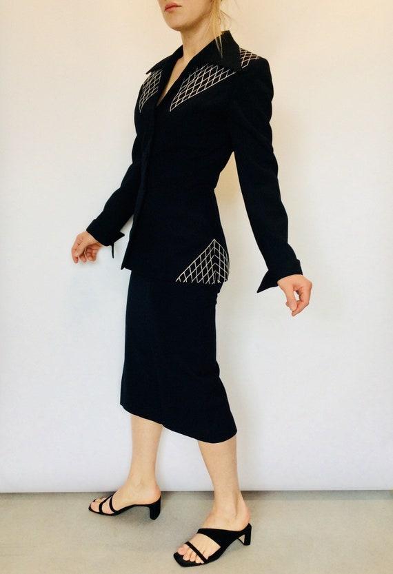 1940s Lilli Ann suit Vintage skirt set Lilli Ann s