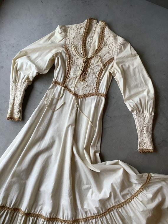 Gunne sax dress 70s Gunne Sax dress Renaissance G… - image 3