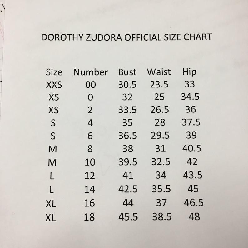 Dorothy Zudora Sizes 00-18 Vintage 1930s 1940s Style Navy Blue ...