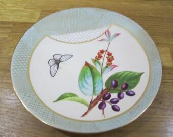 vintage royal worcester plate . sage royal worcester {ref 3}