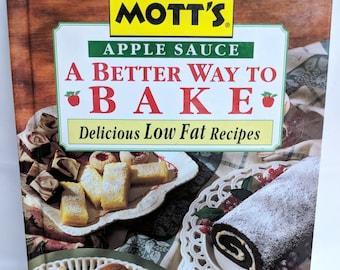 Applesauce Recipes Book Motts Applesauce Cookbook Recipes Using Applesauce Muffins Apple Desserts Featherweight Cakes Breakfast Apple Tarts