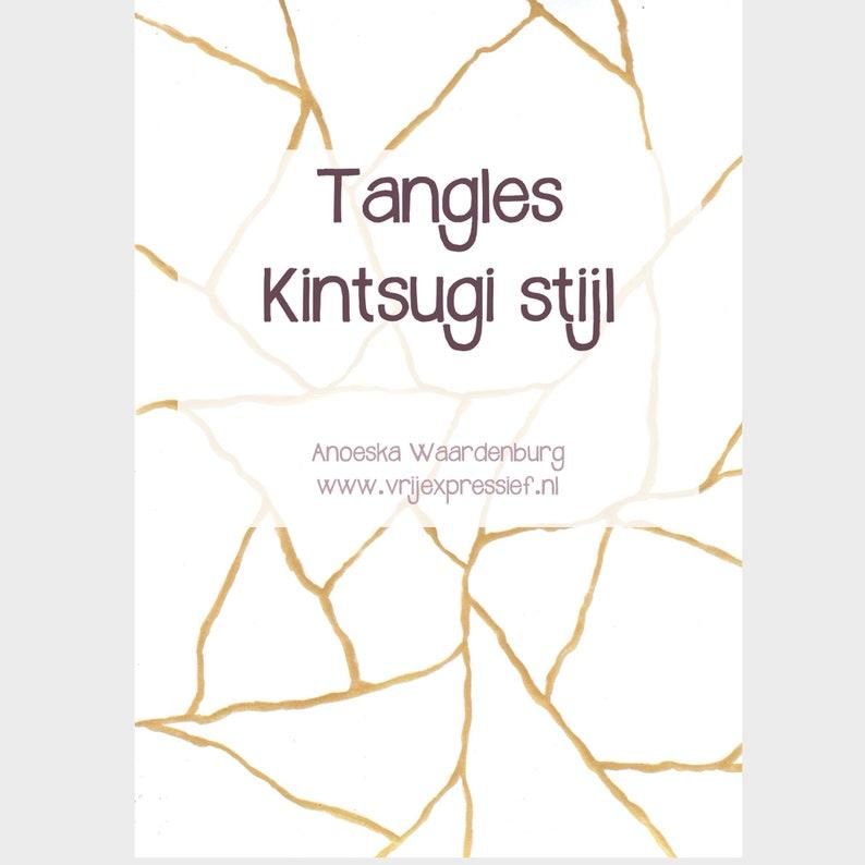 NL E-boek Tangles Kintsugi stijl image 0