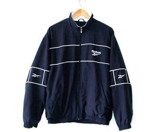 Reebok, track top, 90s sportswear,