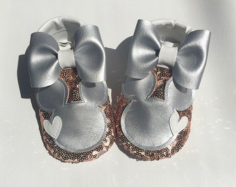 Dazzled Minnie shoes