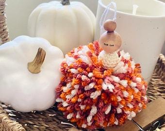 Fall-fetti Pom Pom Sugar Plum Fairy