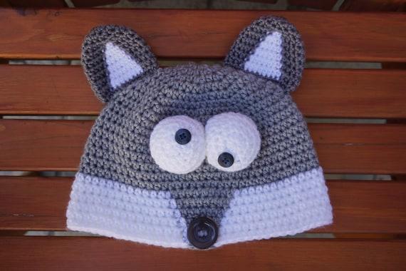Gehäkelte Fox Hut häkeln Tier Hut Mütze Kindergröße hübsch   Etsy