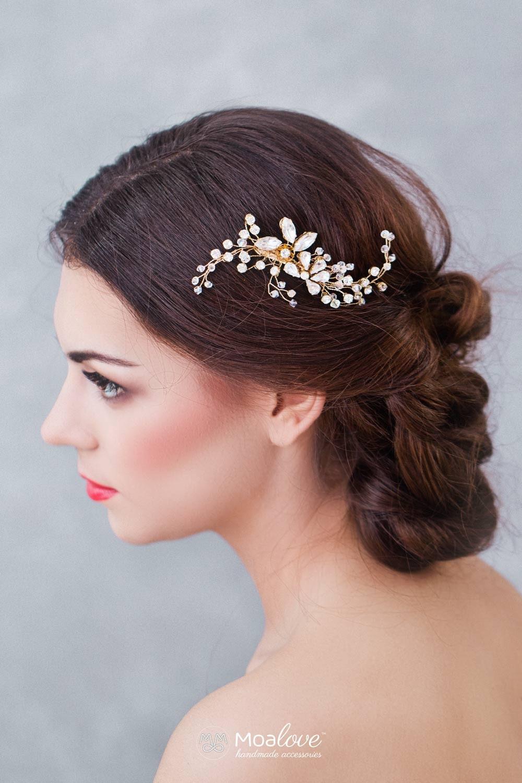 Braut Kopfschmuck Hochzeit Haarschmuck Braut-Schmuck   Etsy