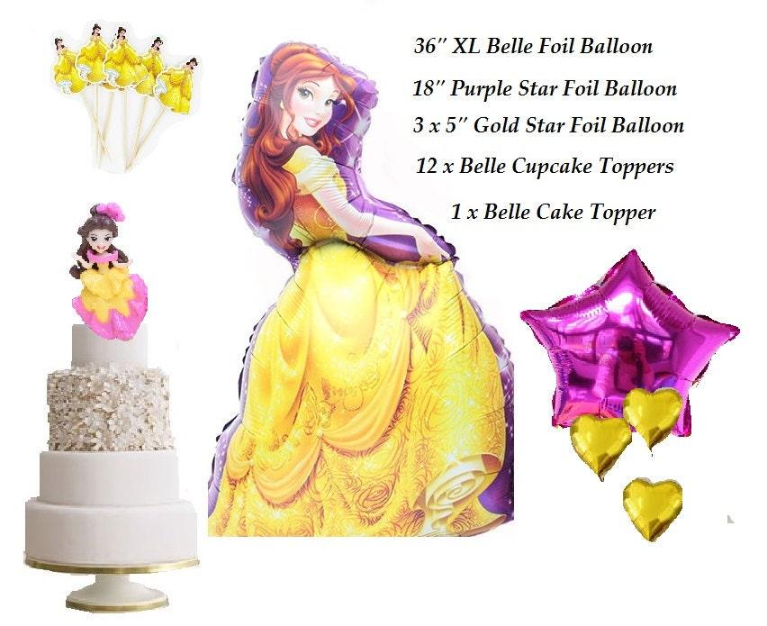 Forbes Favors 17 Piece Ariel Complete Set Princess Foil Balloon