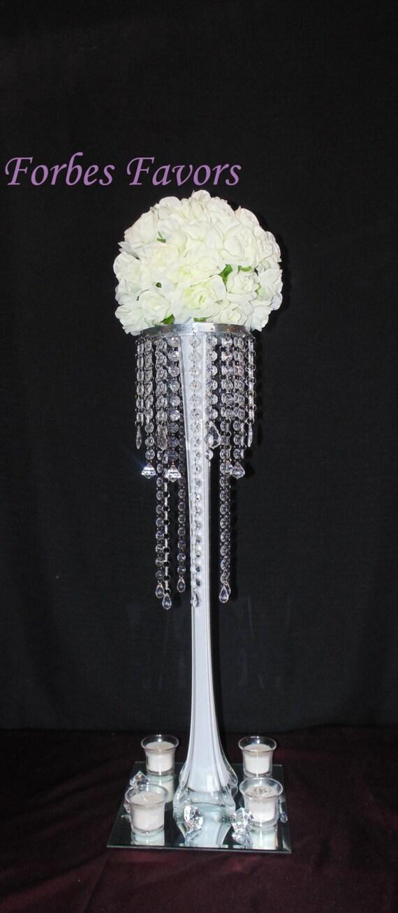 28 Inch High 6 French Pendant Diamond Crystal Chandelier Etsy