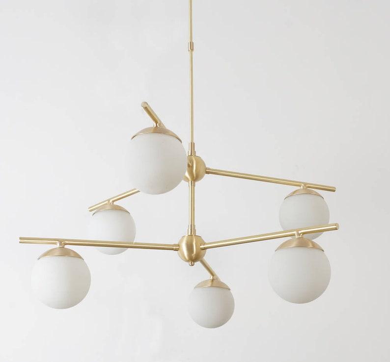 珍玛黄铜吊灯