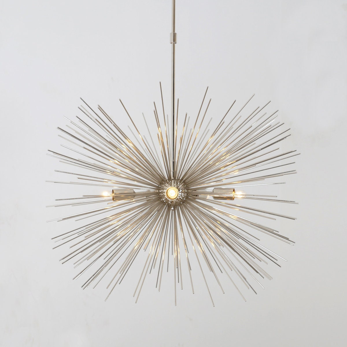 Mid century modern starburst chandelier ceiling lamp pendant light