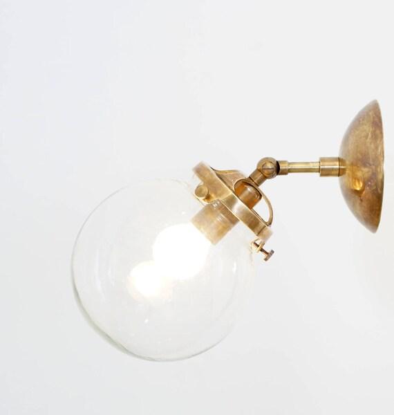 Wunderbar Mitte Des Jahrhunderts Moderne Lampe Modernist Messing | Etsy