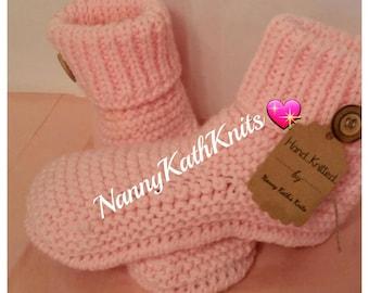 Knitted Slippers, Slipper Socks,Socks,Various Colours, Knitted Bedsocks,House Slippers,Chunky Slippers,Chunky Socks,Toasties.