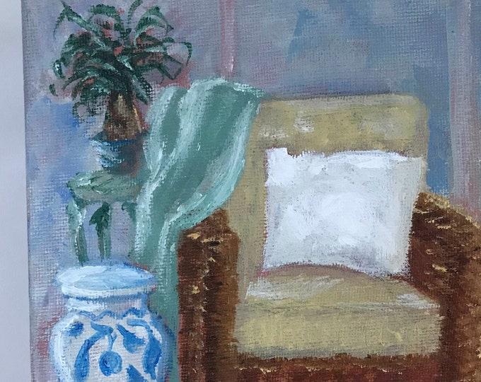 CAROLINA COASTAL LIVING, Original Oil Painting