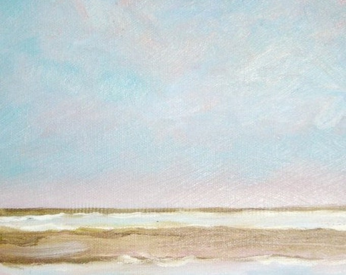 Inland Bay - Daily Painting - Original Oil - Free Shipping