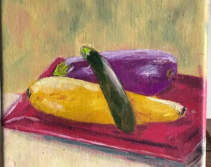 RATATOUILLE, Original Oil Painting