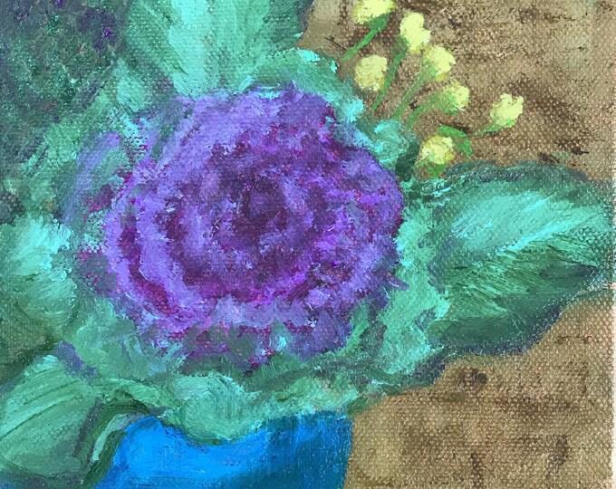 Purple Ornamental Cabbage
