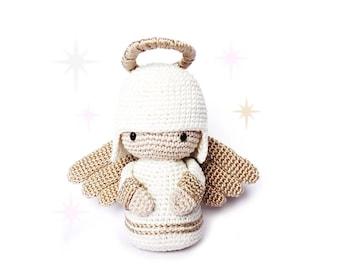 ANGEL Crochet Pattern, Kokeshi Doll
