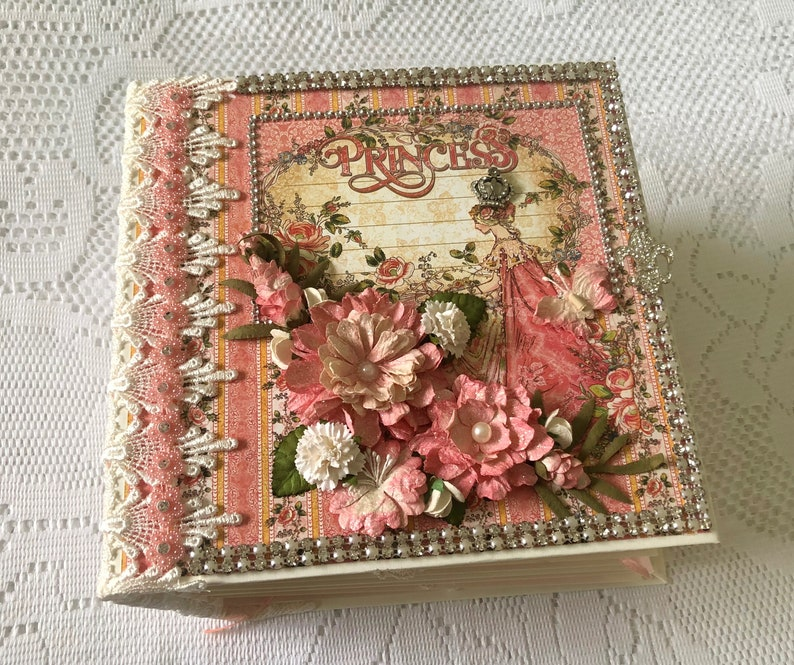 Scrapbook Album Mini Album Handmade Princess Photo image 0