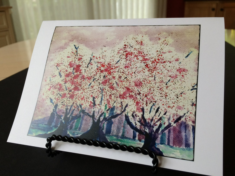 Cherry blossom singles