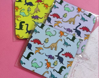 Colourful Dinosaur Coaster, 3 colours to choose from