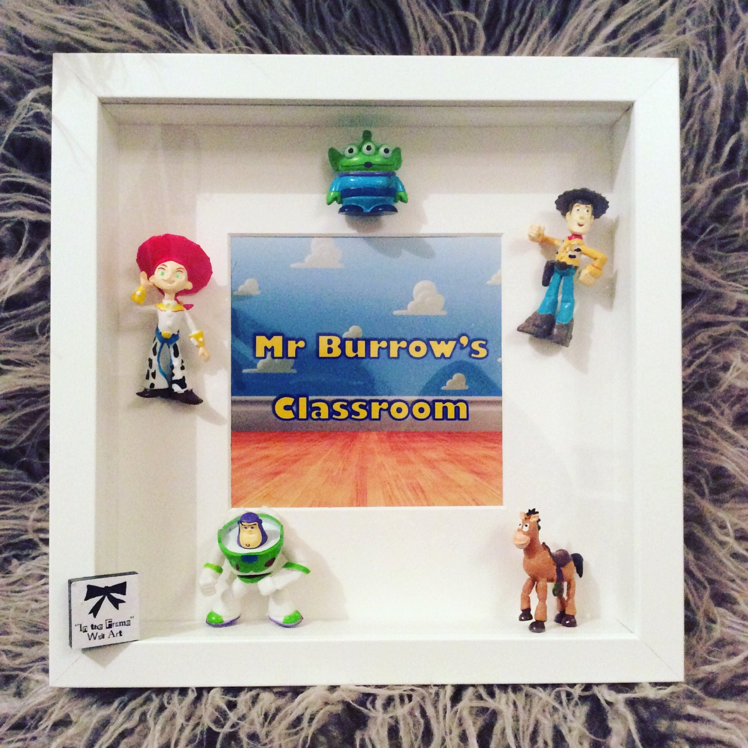 Toy story personalised frame great boys/girls gift for bedroom | Etsy