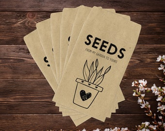 Seed Saver Envelopes, Seed Saving Envelopes, Gardening Gifts, Seed Envelopes, Seed Packets, Seed Saving, Garden Gifts, Seed Storage x 25