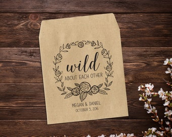 Custom Seed Packets, 25 Wedding Seed Packets, Let Love Grow Favor, Wedding Favor, Seed Favors, Rustic Wedding Favor, Seed Packet Favor