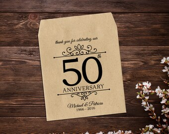 Anniversary Seed Packets