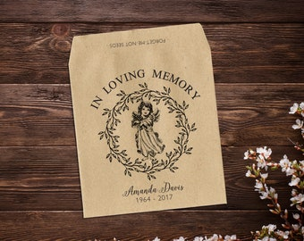 Memorial Gift, Seed Favor, Memorial Favor, Grieving Gift, Forget Me Not, Funeral Favor, Grief Gift, In Loving Memory, Seed Favor Packet x 25