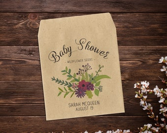 Baby Shower Seed Packets