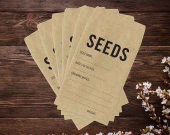 Seed Saving Envelopes
