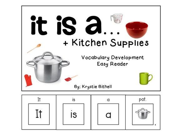 Easy Reader Kitchen Supplies