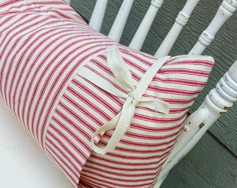 Ticking Pillow Cover