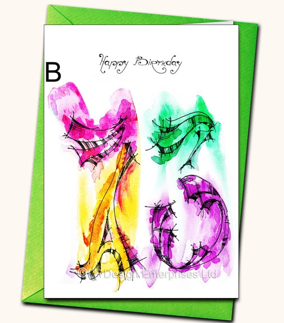 73rd EXTRA LARGE A4 Birthday Greeting Card Personalised