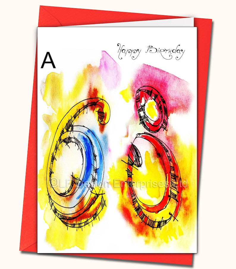 68th Birthday Greeting Card Personalised Cards Any Name On
