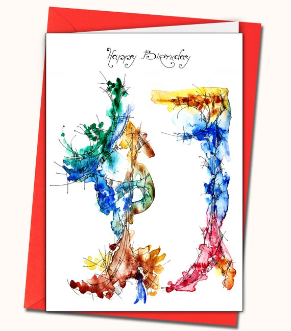 47th Birthday Greeting Card Personalised Cards Any Name On The