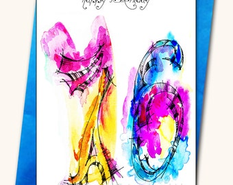 76th Birthday Greeting Card, Personalised cards, Any name on the cards, Age specific birthday cards