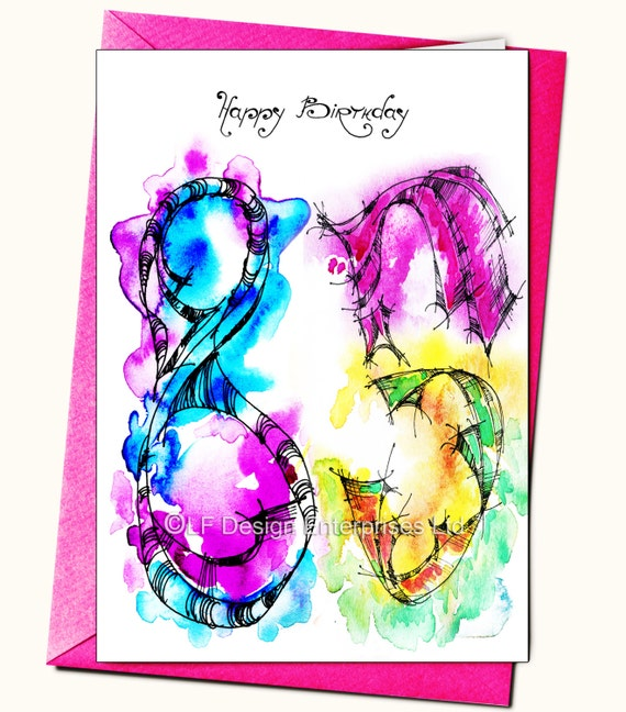 85th birthday greeting card personalised cards any name on etsy image 0 m4hsunfo