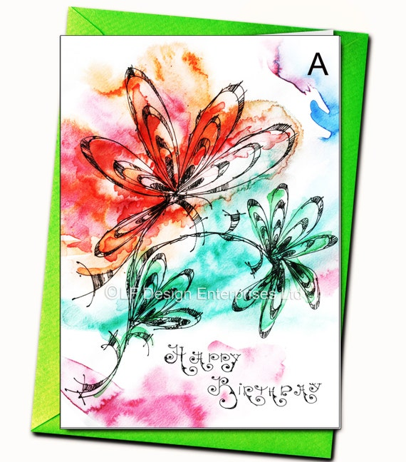Happy Birthday Greeting Card Personalised Cards Any Name On