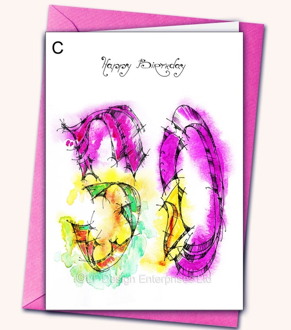 50th Extra Large Birthday Greeting Card A48x