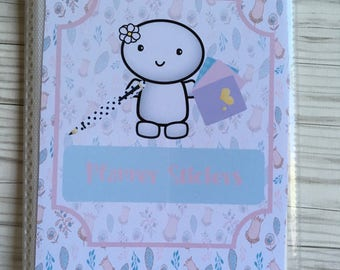 Daisy Doodle planner sticker book Sticker storage