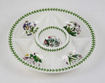 514ea747924 Botanic Garden Divided Serving Dish by Portmeirion