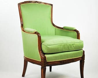 Louis The 15th Style Round Back Arm Chair