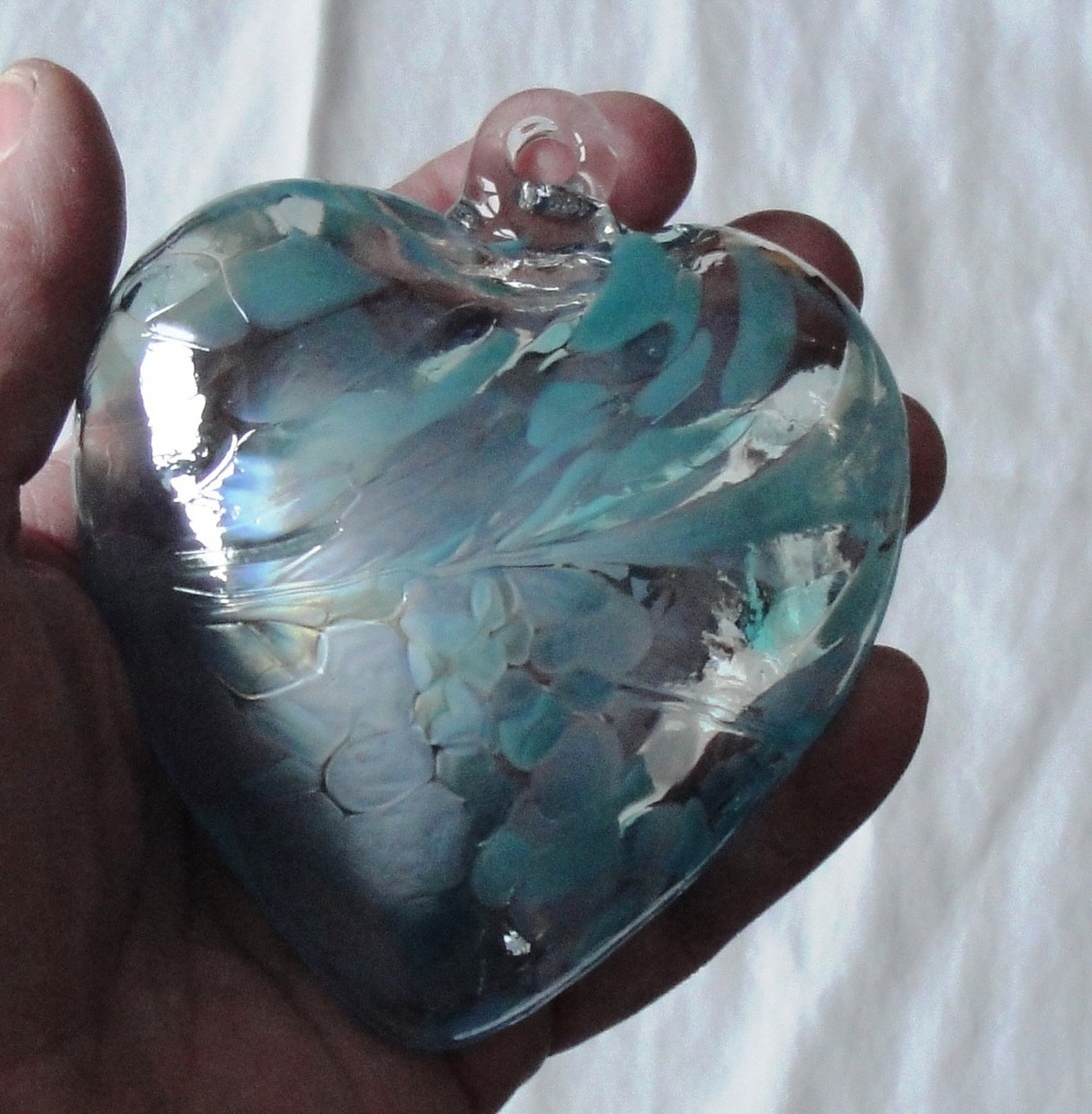 Glass Heart Ornaments Page Two