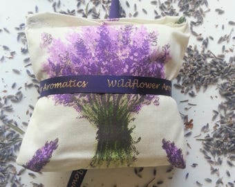 Lavender Scented Sachets with real lavender flowers, home fragrance, drawer freshener, aromatherapy,  gift for mum, gifts for her,  natural