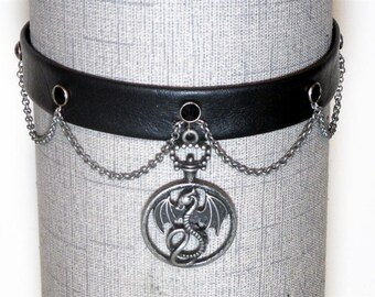 Dragon Circle Dress Collar/Choker