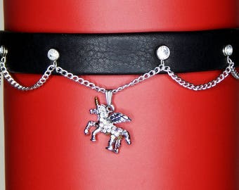 Unicorn Dress Collar/Choker